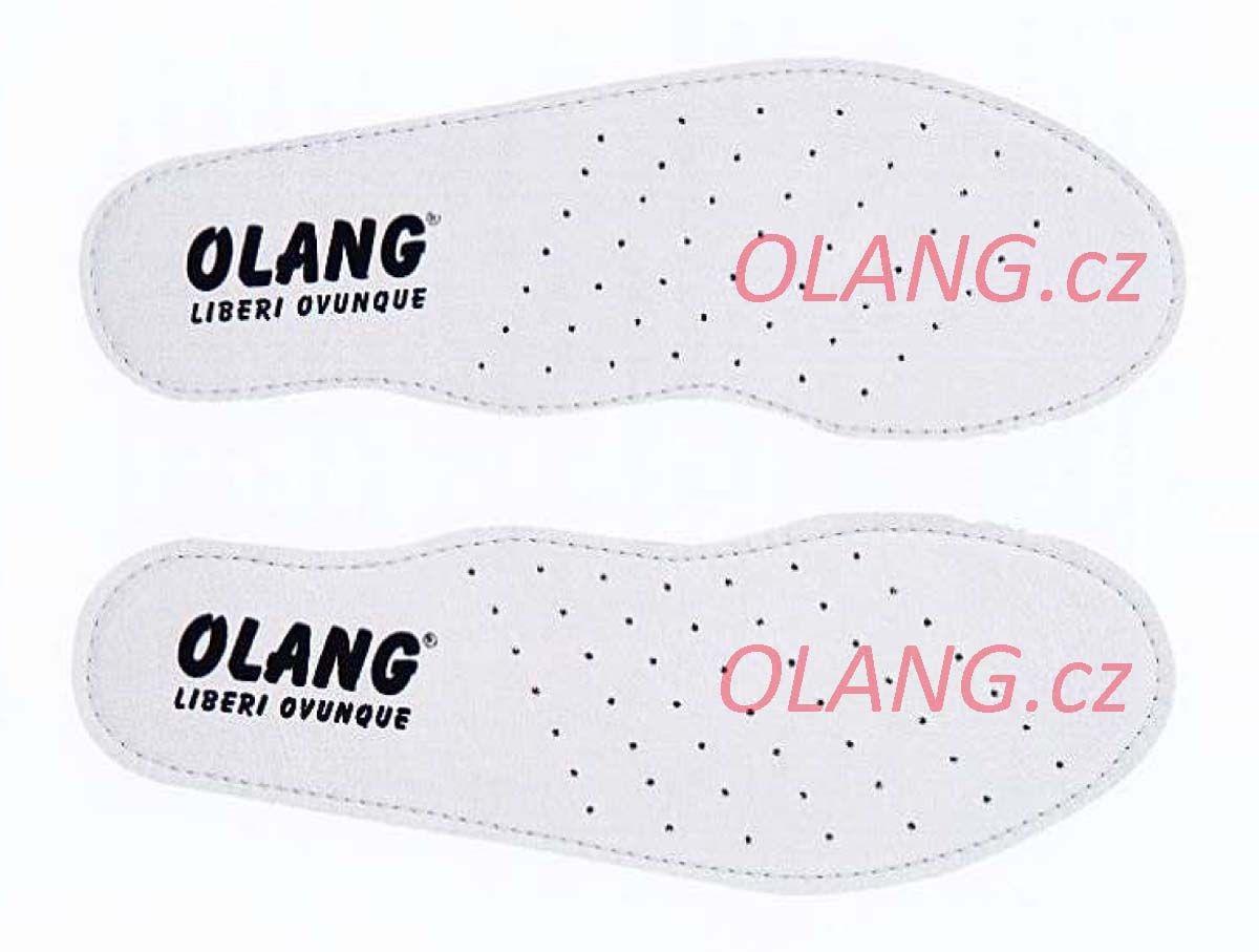 Olang Soft Step stélky z pravé kůže