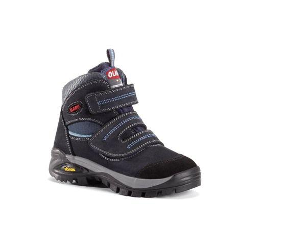 Olang Fox Kid Blu dětská obuv na suchý zip