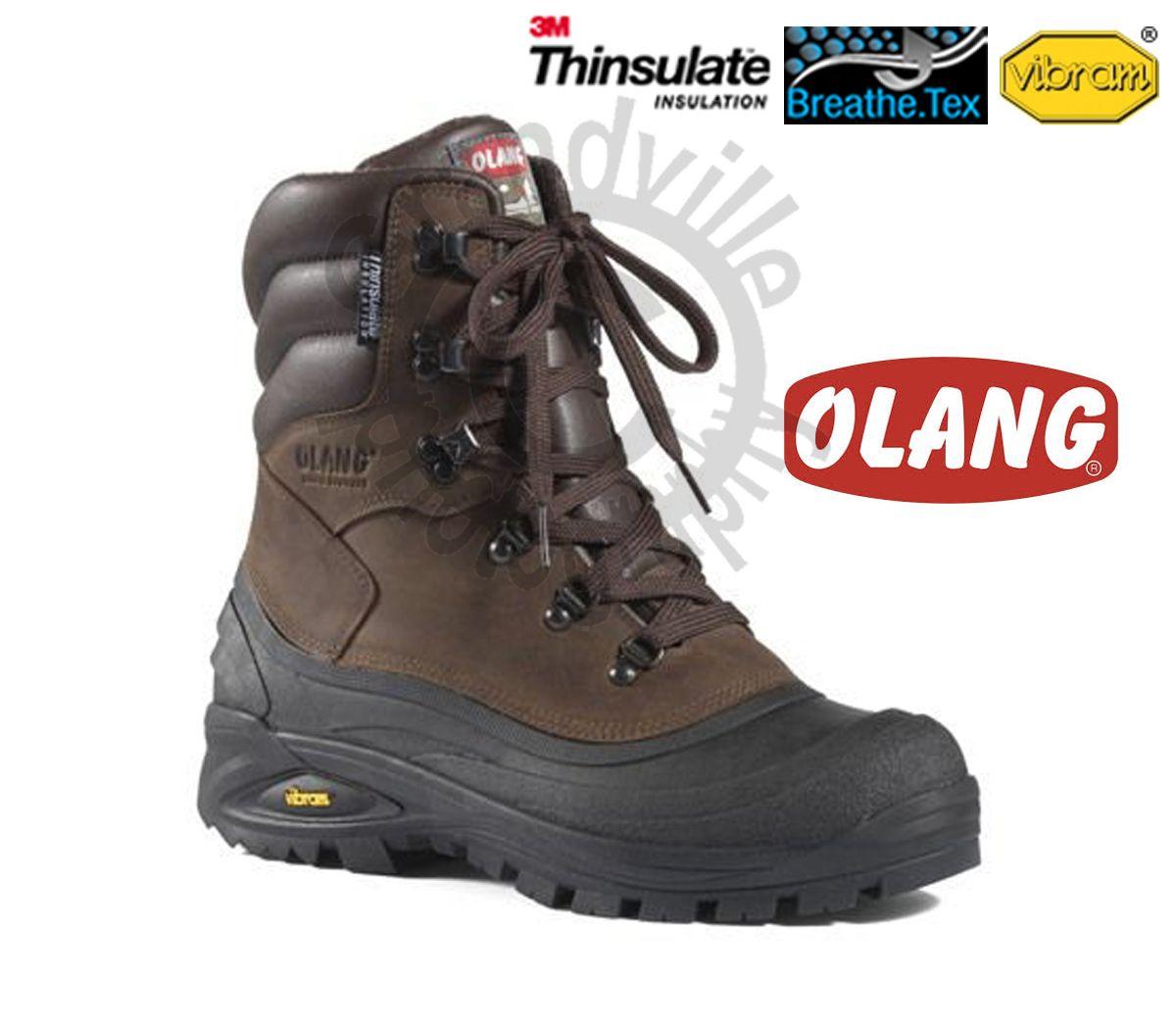 Zímní zateplená obuv Olang Titanio Cuoio